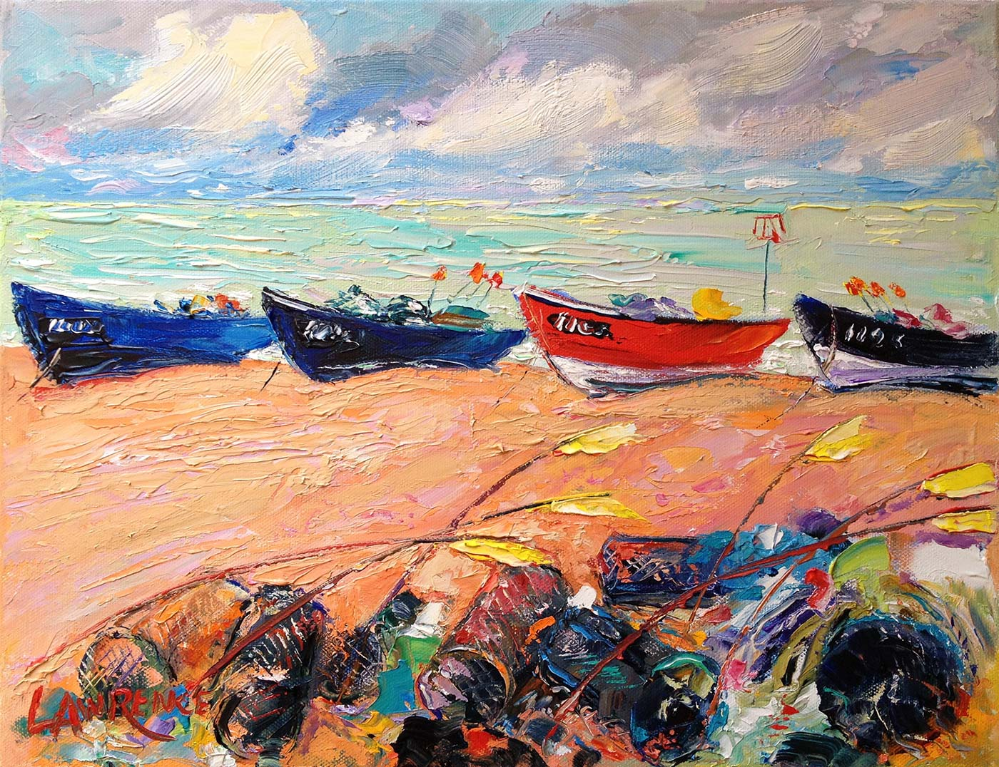 Beached Boats - Bognor