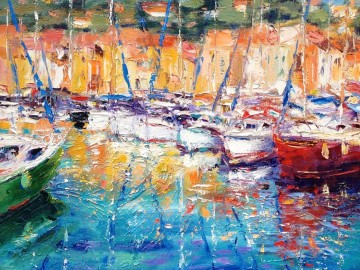Cafes And Boats - Cassis, France