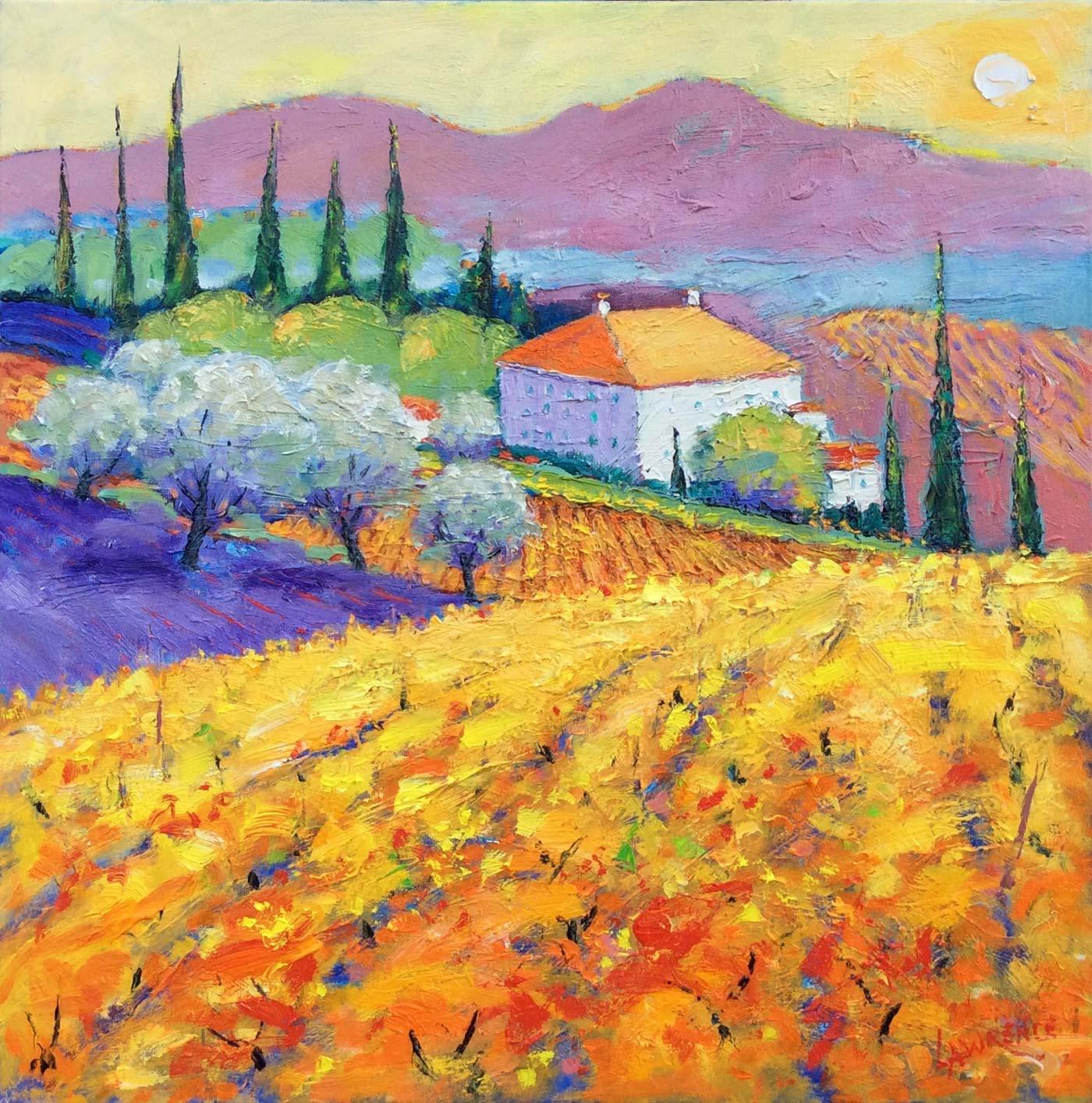 Farmhouse And Vines - Italy