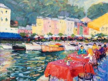 Harbour Side Cafe - Portofino, Italy