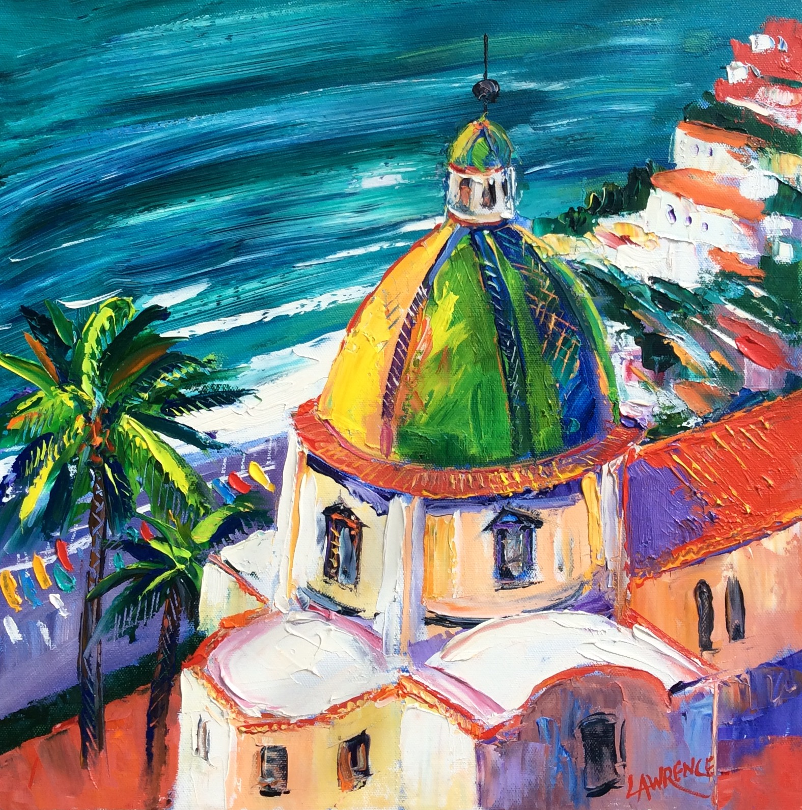 Colourful Dome Positano