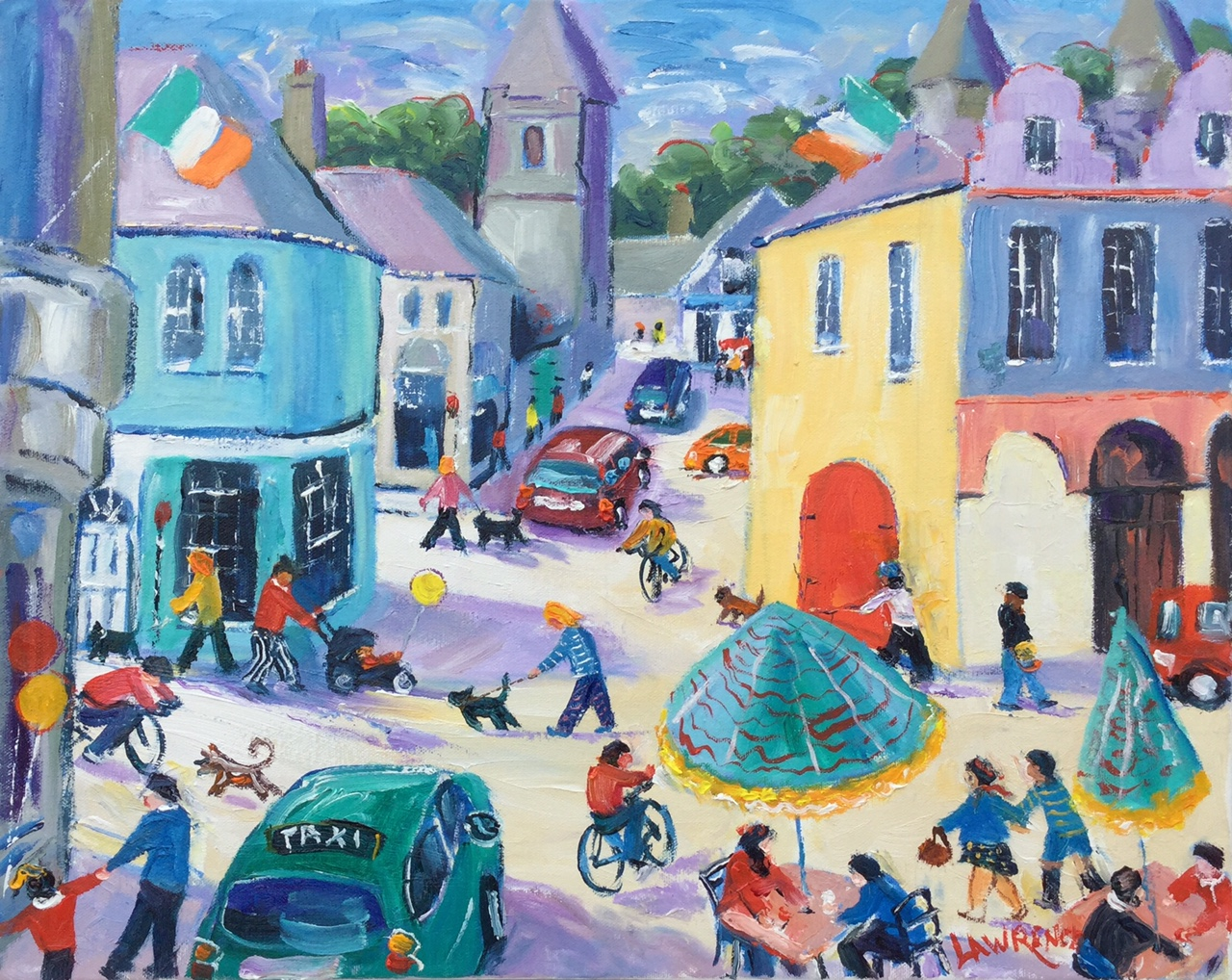Busy Kinsale one way only